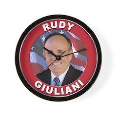 Rudy Giuliani Wall Clock