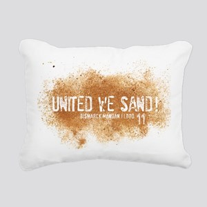UnitedWeSand_Bismarck Rectangular Canvas Pillow