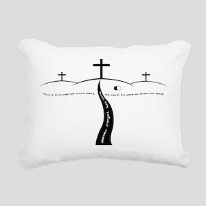 TheWay2 Rectangular Canvas Pillow