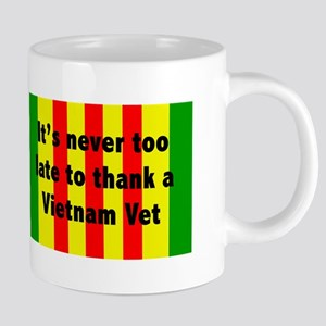 Thank a Vet 20 oz Ceramic Mega Mug