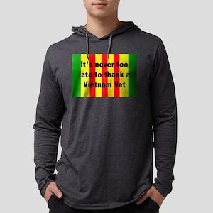 Thank a Vet Mens Hooded Shirt