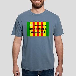 Thank A Vet Mens Comfort Colors Shirt T-Shirt