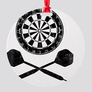 Darts_shirt Round Ornament