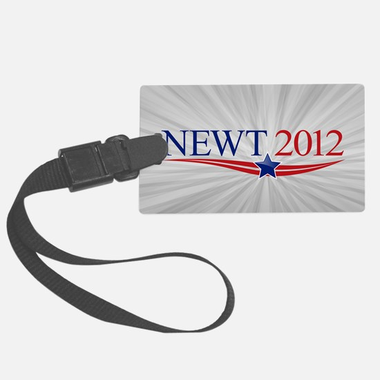 5x3oval_newt_official Luggage Tag