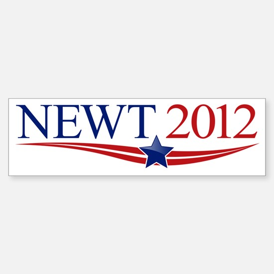 newt_no-margin2 Sticker (Bumper)