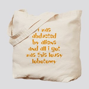 abducted-lobotomy-Lt Tote Bag