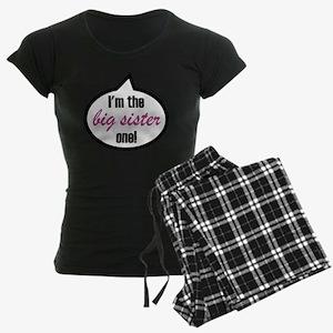 Im_the_bigsis Women's Dark Pajamas