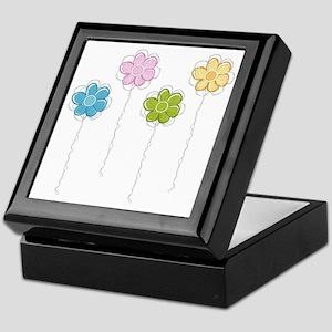 Summer Flowers Keepsake Box