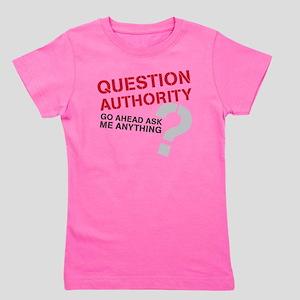 QUESTIONAUTHORITY Girl's Tee