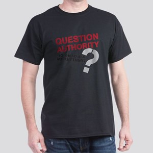 QUESTIONAUTHORITY Dark T-Shirt