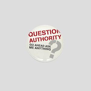 QUESTIONAUTHORITY Mini Button