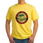 Stop Global Alarming Yellow T-Shirt