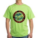 Stop Global Alarming Green T-Shirt