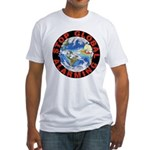 Stop Global Alarming Fitted T-Shirt