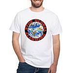Stop Global Alarming White T-Shirt