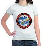 Stop Global Alarming Jr. Ringer T-Shirt