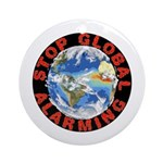 Stop Global Alarming Ornament (Round)