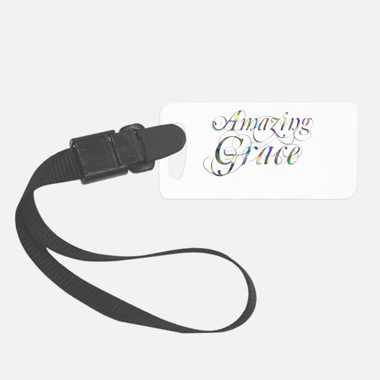 Amazing Grace Small Luggage Tag