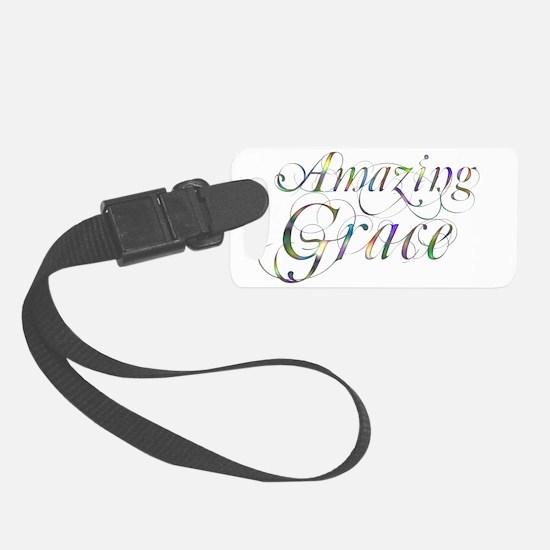 Amazing Grace Luggage Tag