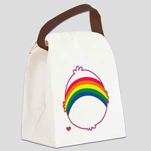 CareBear-Rainbow Canvas Lunch Bag