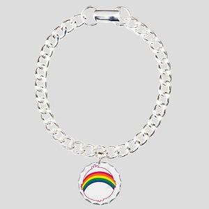 CareBear-Rainbow Charm Bracelet, One Charm