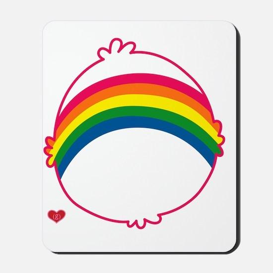 CareBear-Rainbow Mousepad