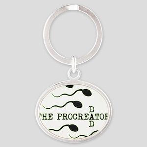 procreator Oval Keychain