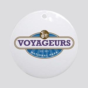 Voyageurs National Park Ornament (Round)