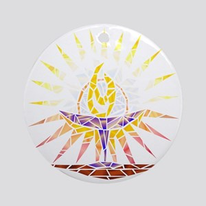 chalice transparent Round Ornament