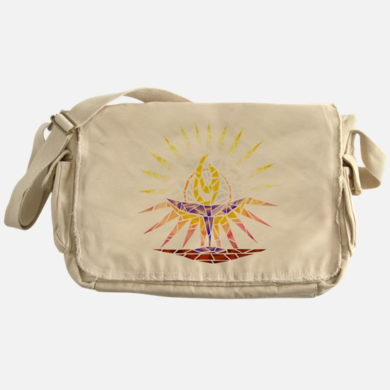 chalice transparent Messenger Bag