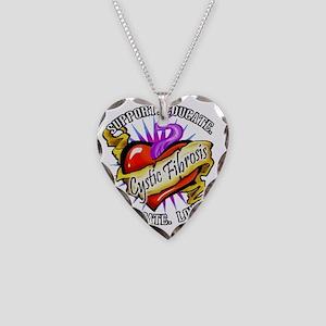Spt Educate CF Necklace Heart Charm