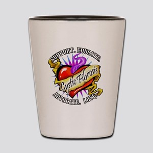 Spt Educate CF Shot Glass