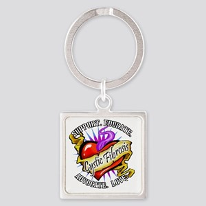 Spt Educate CF Square Keychain