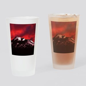 (15) Shasta Red Cloud Drinking Glass
