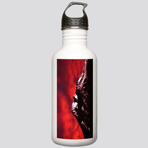 (9) Shasta Red Cloud Stainless Water Bottle 1.0L