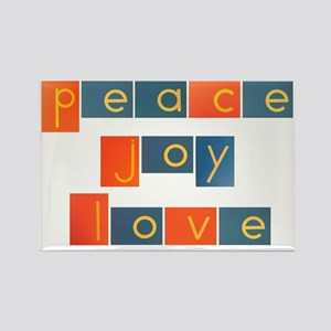 peacelovejoyflat Rectangle Magnet