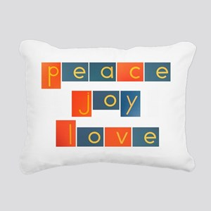 peacelovejoyflat Rectangular Canvas Pillow