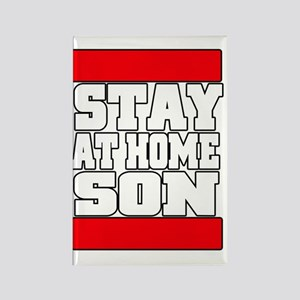 stayathome copy Rectangle Magnet