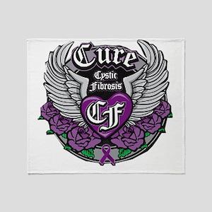 Cure CF Throw Blanket