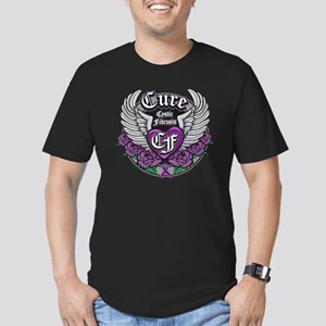 Cure CF Men's Fitted T-Shirt (dark)