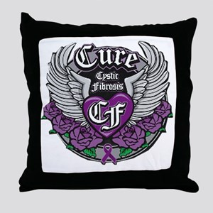 Cure CF Throw Pillow