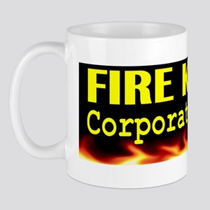 Fire Kasich Corporate Minion bumper sti Mug