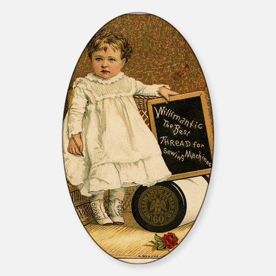 Thread Ad Sticker (Oval)
