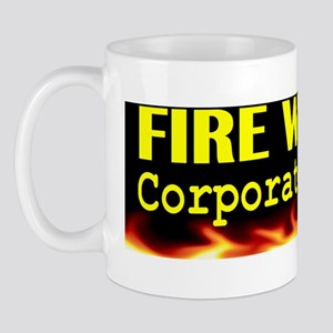 Fire Walker Corporate Minion bumper sti Mug