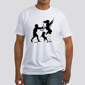 swinging Fitted T-Shirt