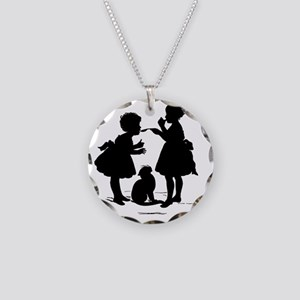 Tasting Necklace Circle Charm