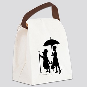 dress up Canvas Lunch Bag