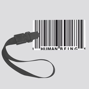 barcode Large Luggage Tag