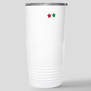 Jim Larkin quote white Stainless Steel Travel Mug