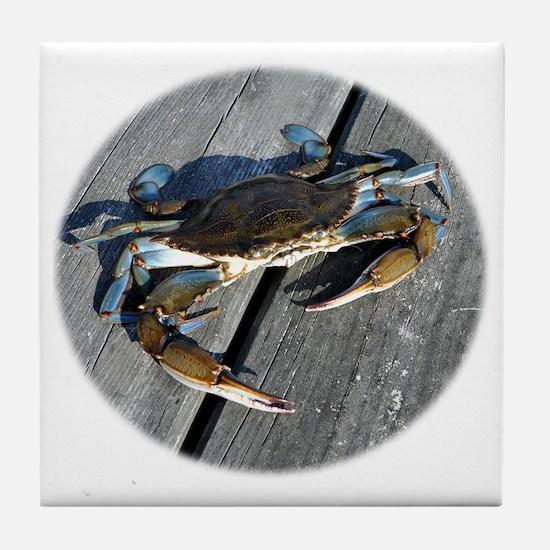 crabonly Tile Coaster